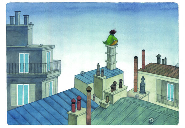 Uomo dei tetti 2